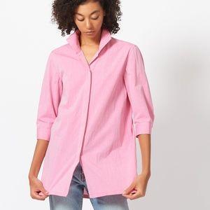 Kal Rieman Ginna Swing Tunic Shirt Watermelon Pink
